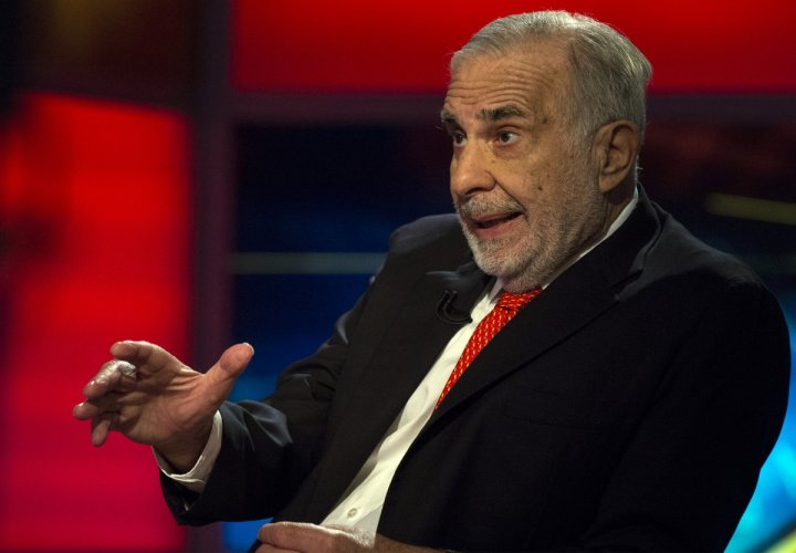 Icahn has a net worth of $23bn and is the founder, Icahn Capital Management