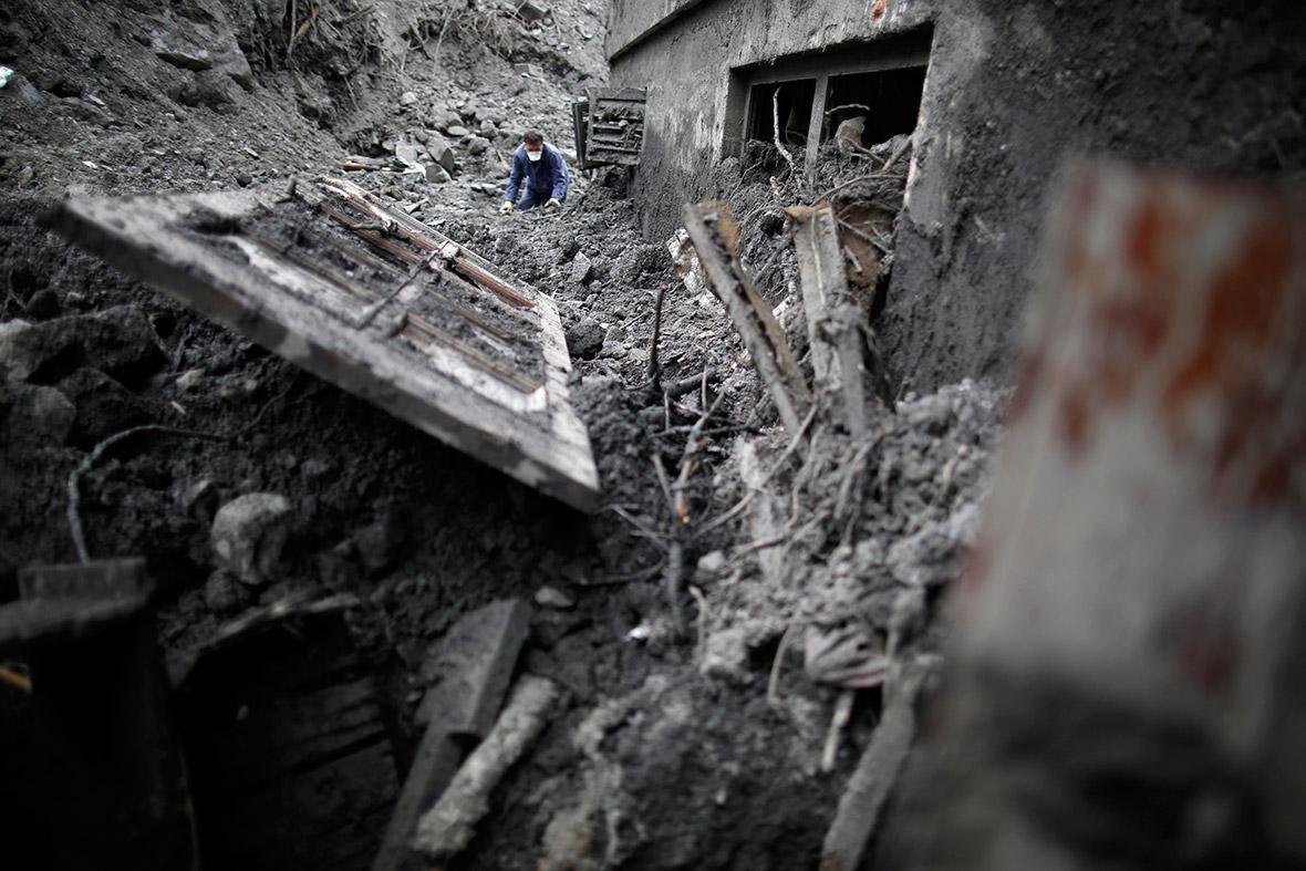 floods landslide