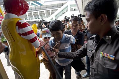 thailand coup arrest