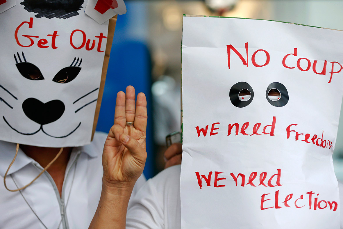 thailand masks