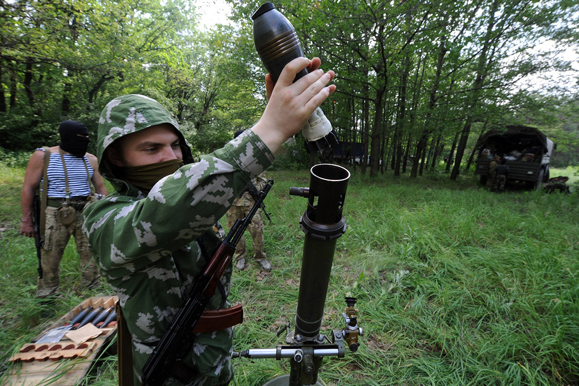 ukraine mortar
