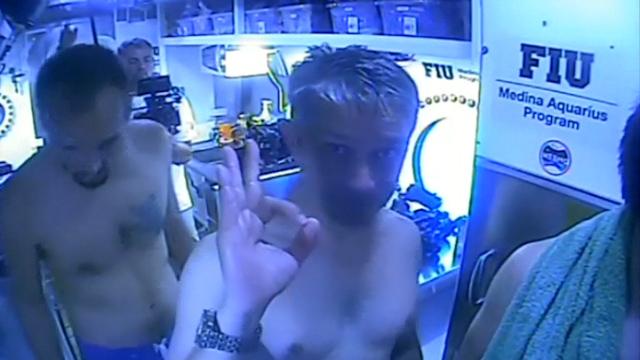 Jacques Cousteau's Grandson Aims For 31 Days Undersea