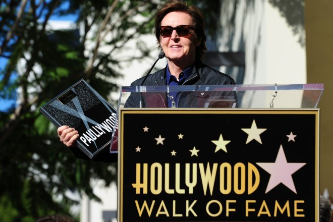 Paul McCartney Hollywood Walk of Fame