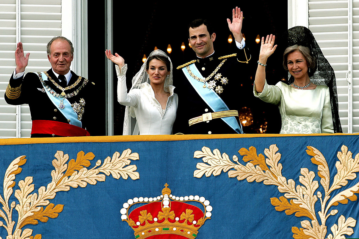 Juan Carlos I of Spain felipe wedding