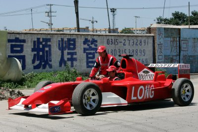homemade cars Formula One ferrari