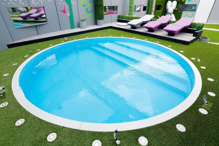 Big Brother house 2014 swimming pool