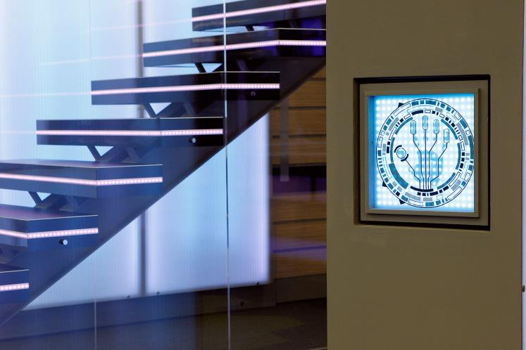 Big Brother House 2014 staircase