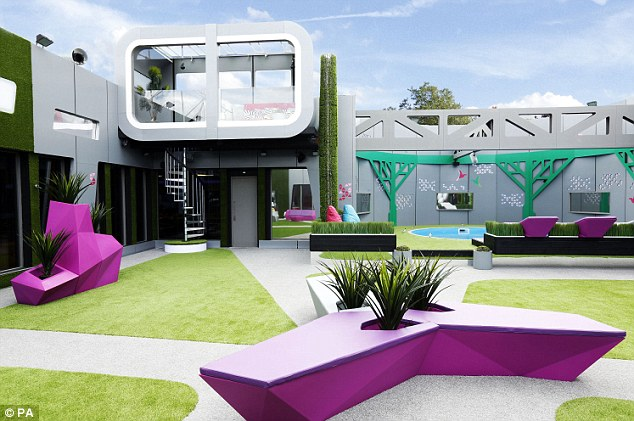 Big Brother house 2014 garden