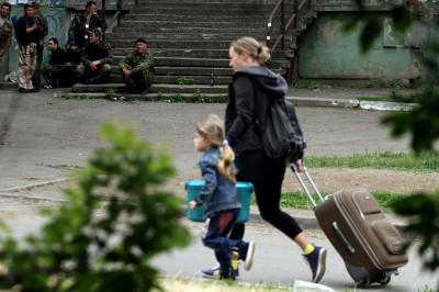 mother and child ukraine