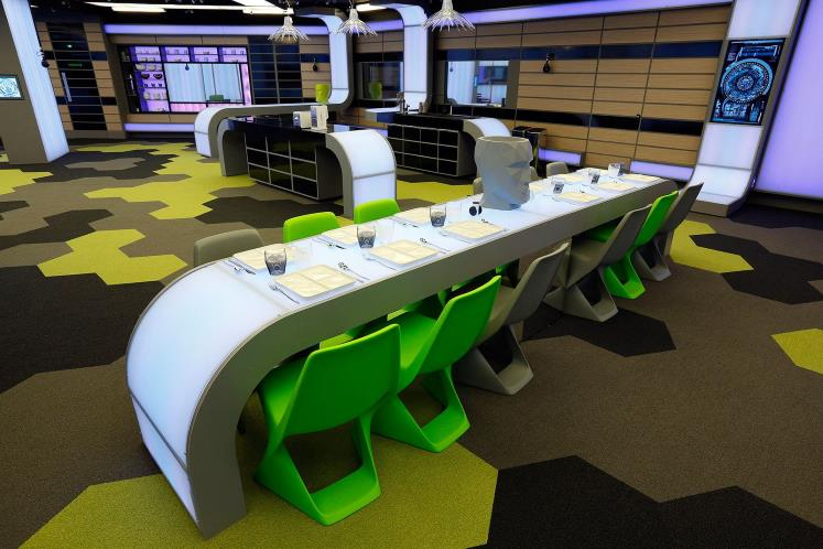 Big Brother house 2014 Kitchen
