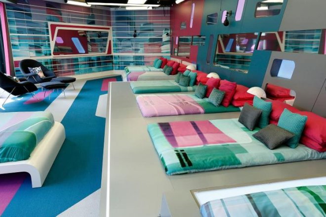 Big Brother house 2014 bedroom