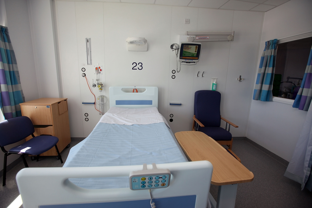 Hospital bed shortage