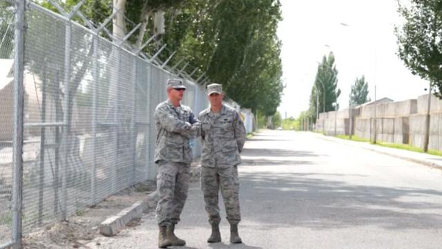 US Transit Base in Kyrgyzstan Readies for Closure