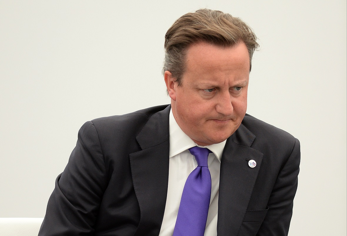 David Cameron has seen Labour pull further ahead in polling by Tory donor, Lord Ashcroft