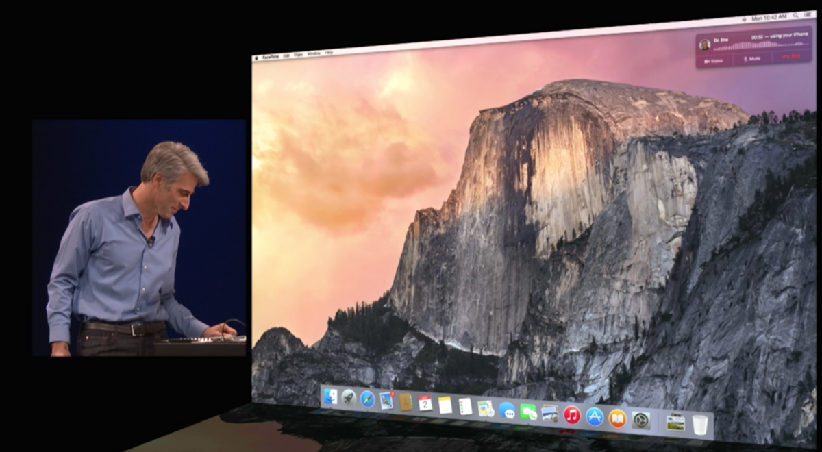 how to make a call from mac using iphone