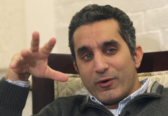 Popular Egyptian satirist Bassem Youssef