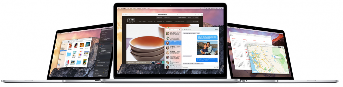 Mac OS X 10.10 Yosemite