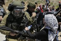 Israeli soldier West Bank