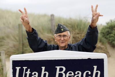 D-Day veteran Utah Beach