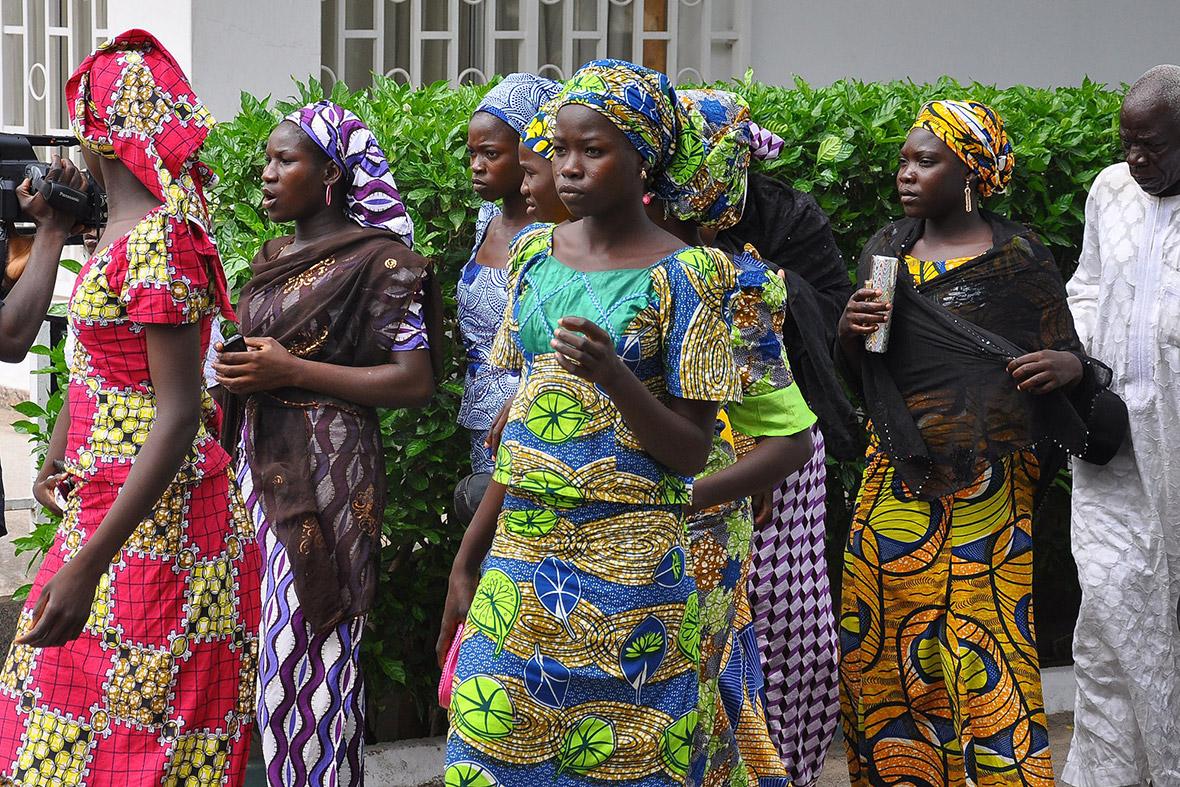 Nigeria girls escape
