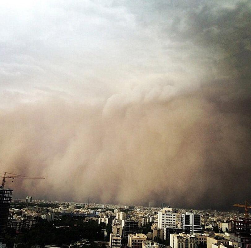 sandstorm iran