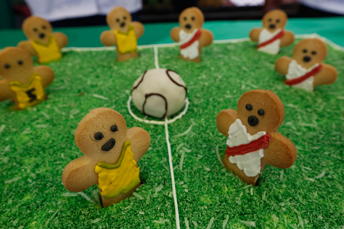 world cup gingerbread