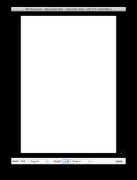 Bigger iPhone 6 Screen Sizes Hinted in iOS 8 Simulator