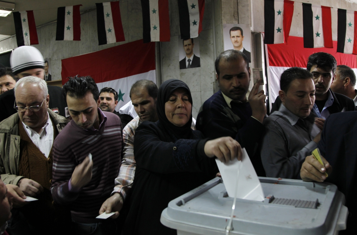 Syrians Head to the Polls in Wartime Election