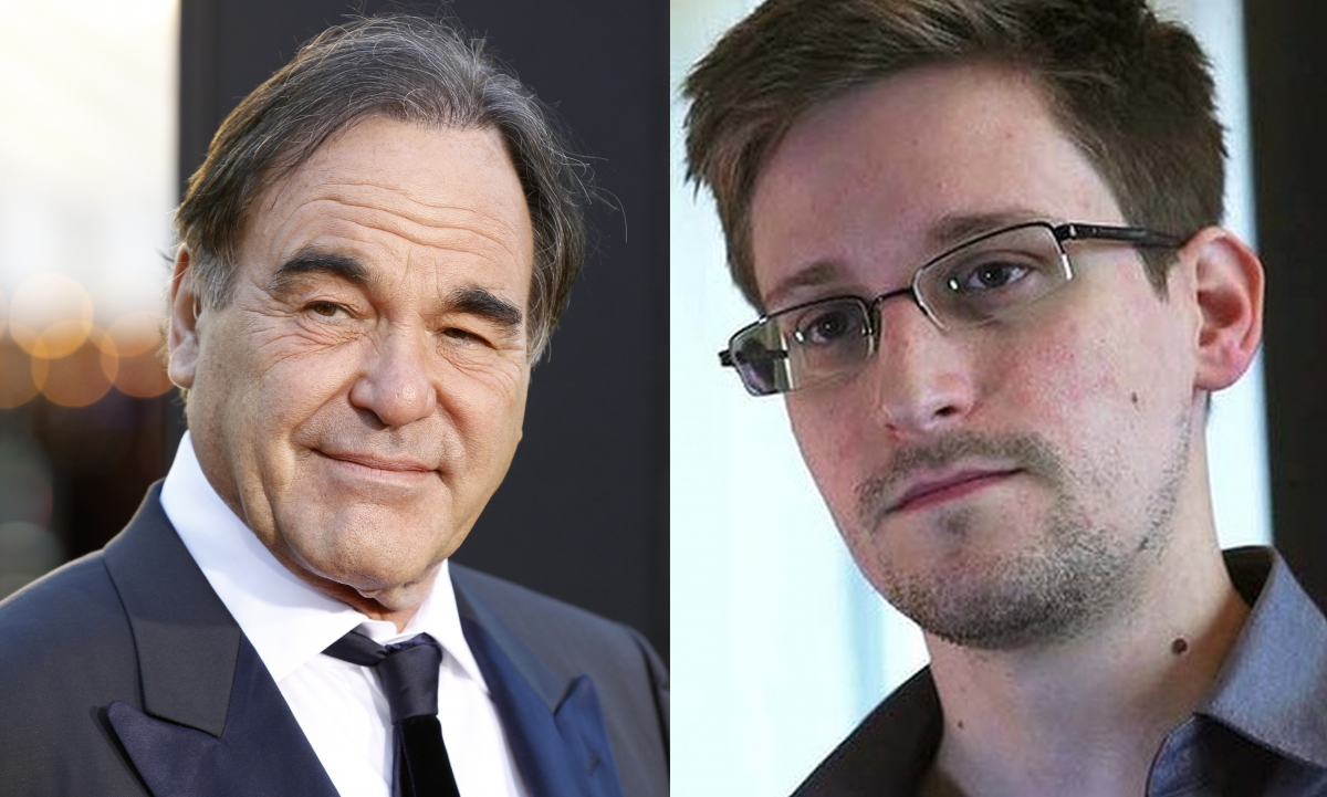 Oliver Stone to Make Edward Snowden Film
