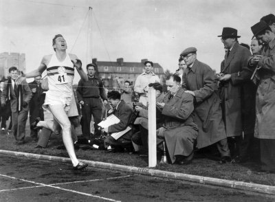 roger banister four minute mile