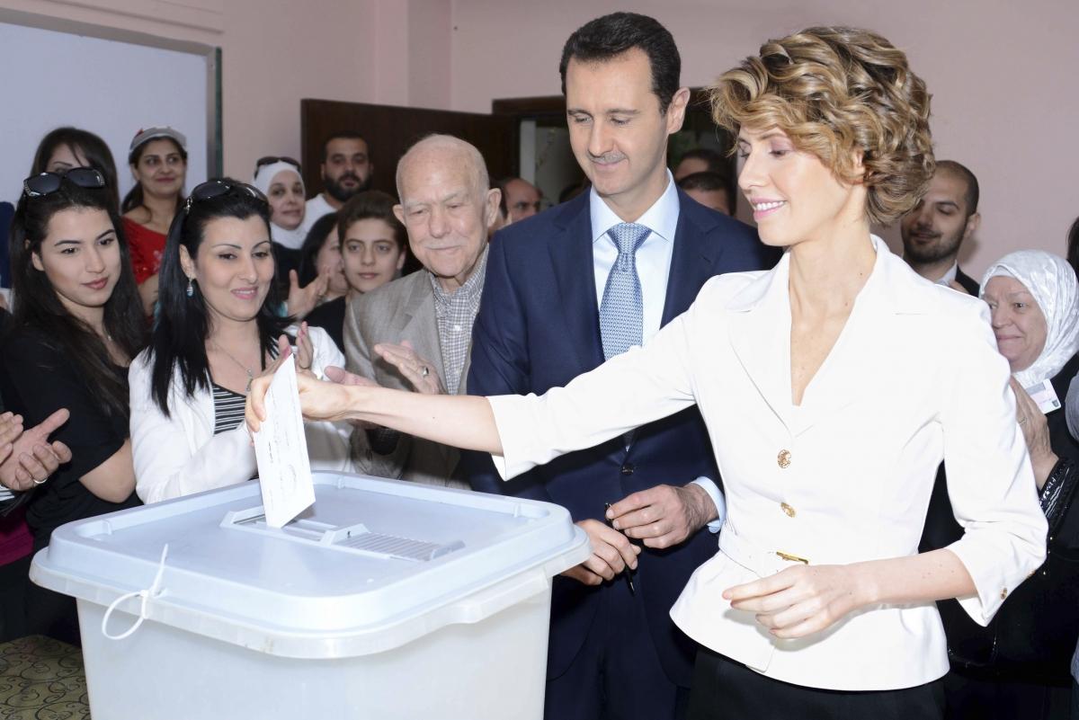 Bashar al-Assad Asma al-Assad
