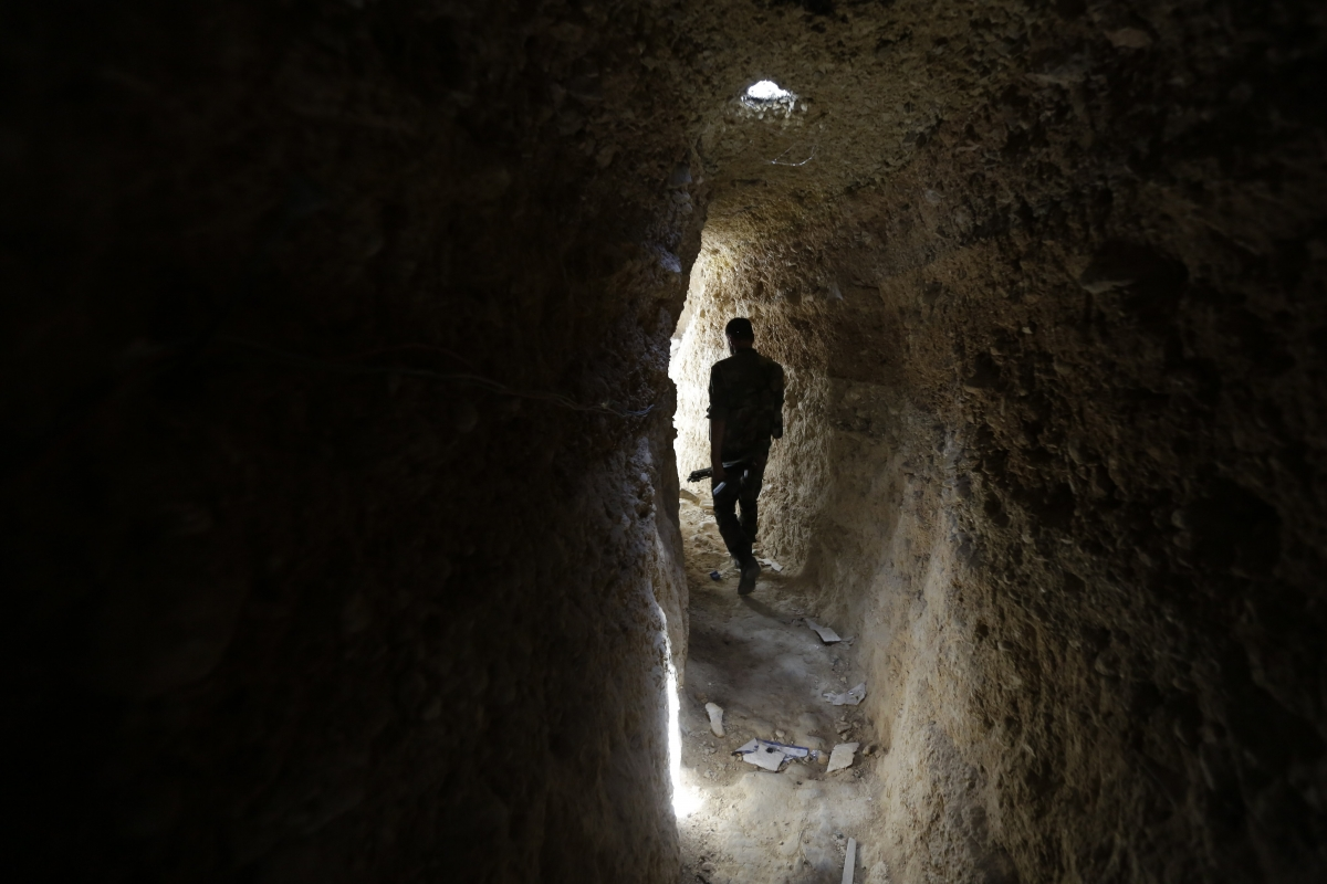 Syria Tunnel Bombs Rebels