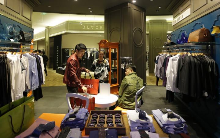 Shopper in China
