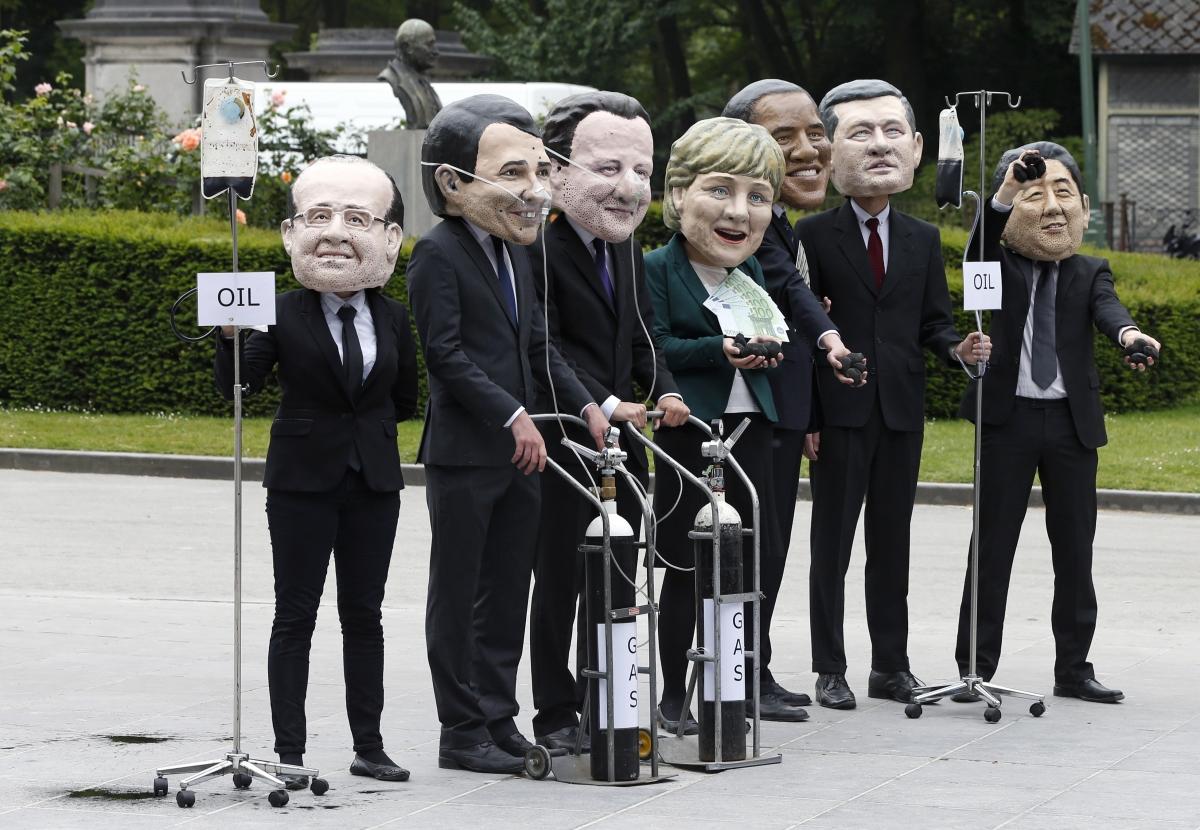 G7 meeting in Brussels