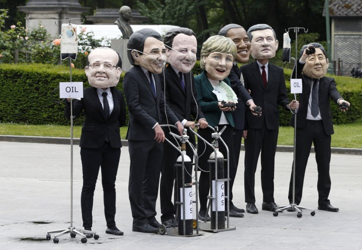 G7 meeting in Brussels