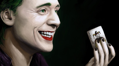 Tom Hiddleston as Joker?