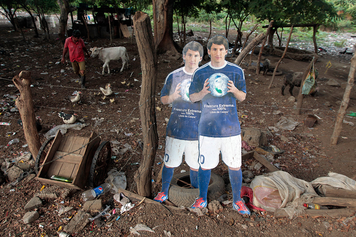 world cup rubbish dump