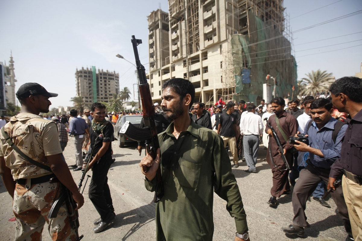 Pakistan Suicide Bomb