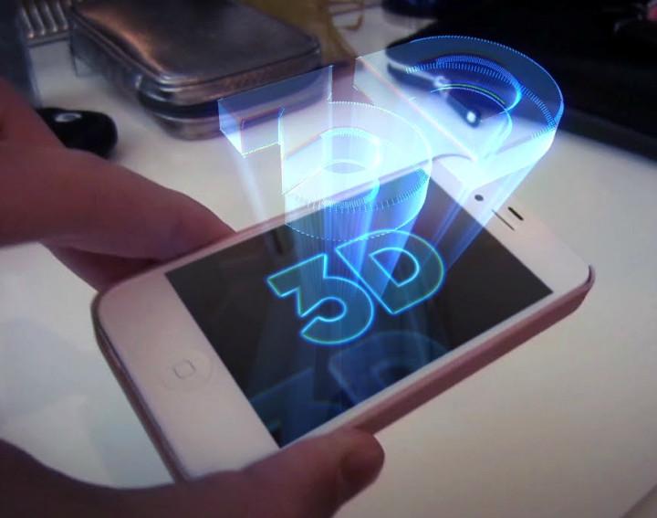 3D Hologram smartphone