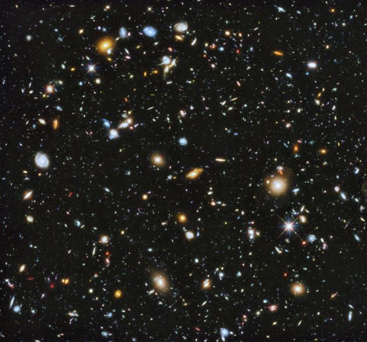 Nasa cosmos colourful image