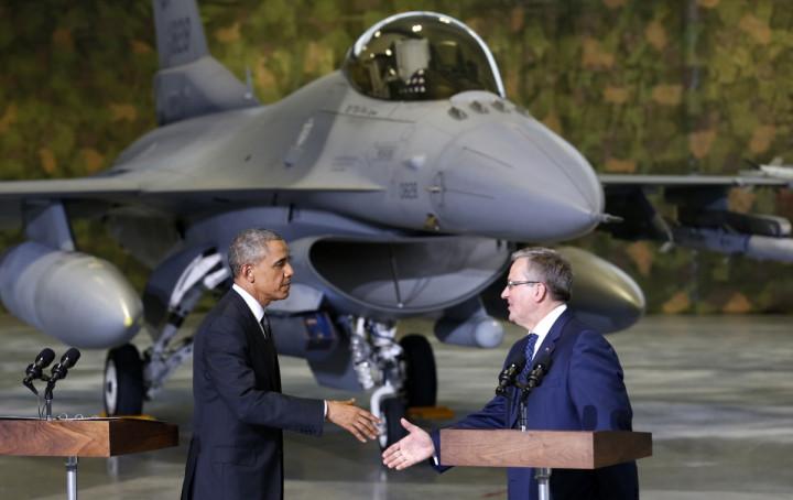 Obama in Poland