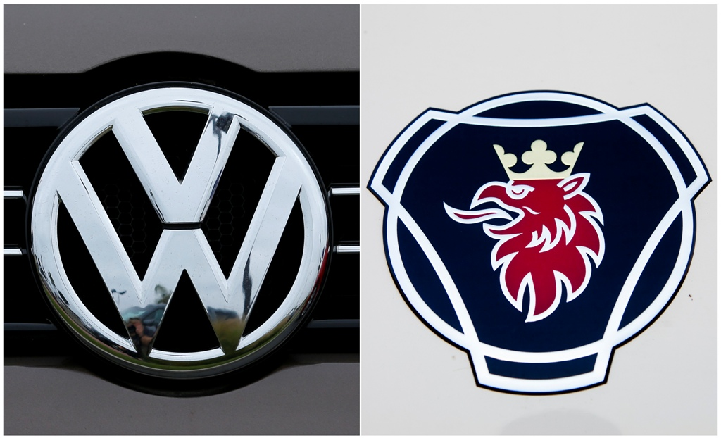 Volkswagen Raises 2 7bn For Scania Buyout