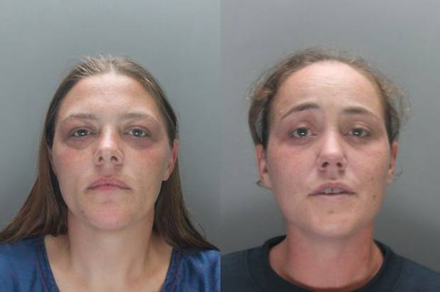 Hayley Sulley and Della Woods jailed after OAP