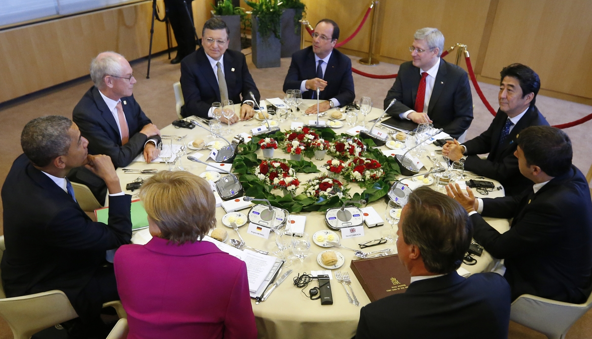 G7 Vows Tougher Measures on Russia over Ukraine