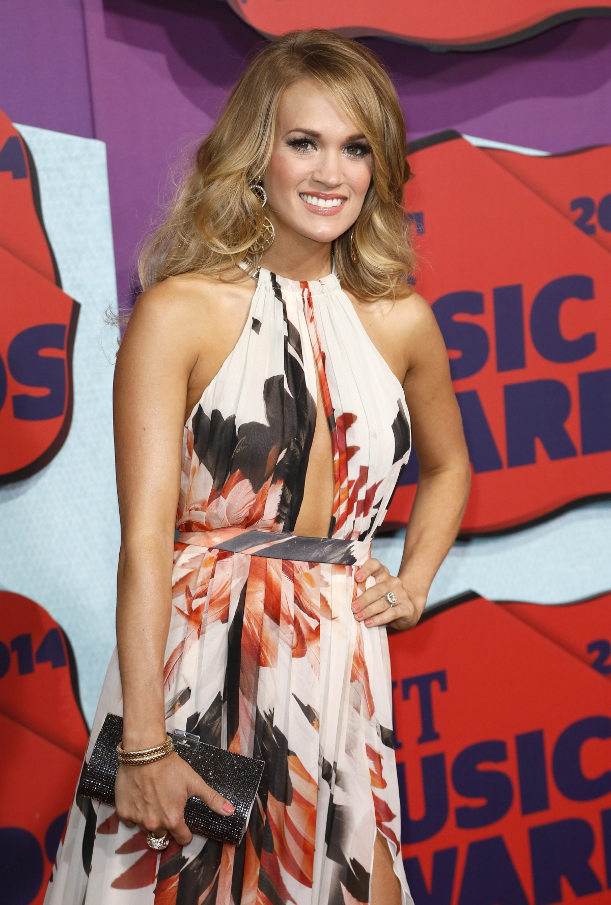 Carrie Underwood at the 2014 CMT Music Awards in Nashville, Tennessee.