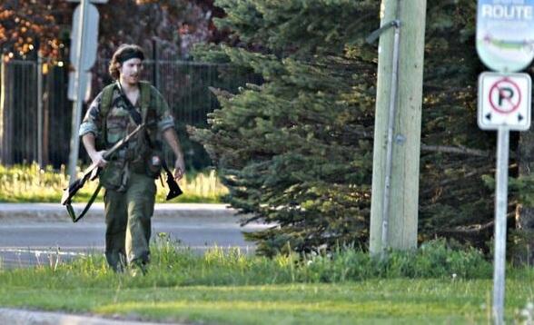 Justin Borque Canada Shooting