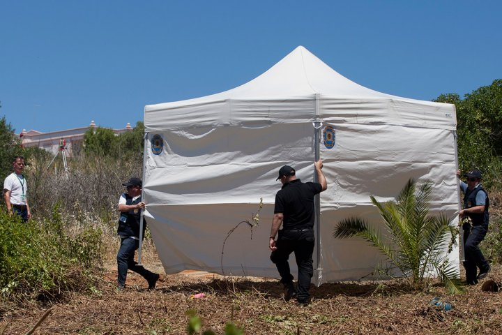 madeleine mccann tent