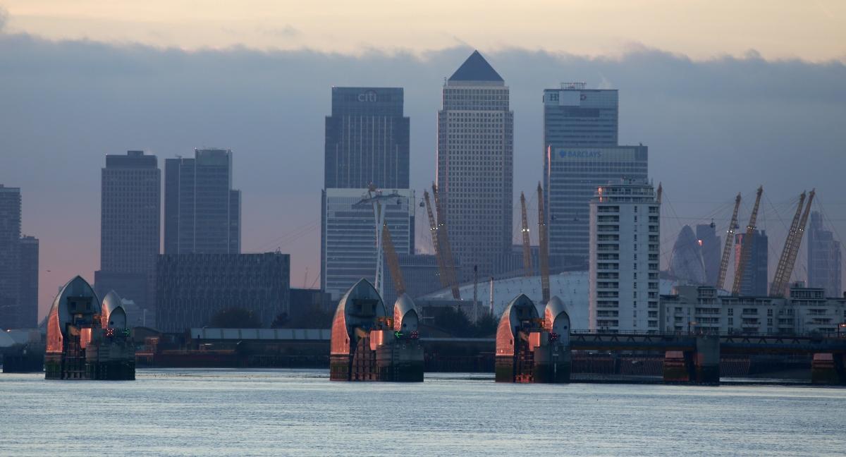 London's financial district