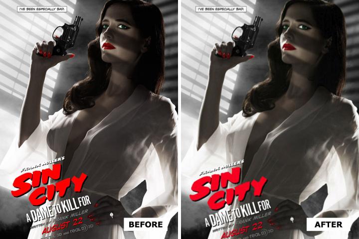 Eva Green Sin City 2 Posters
