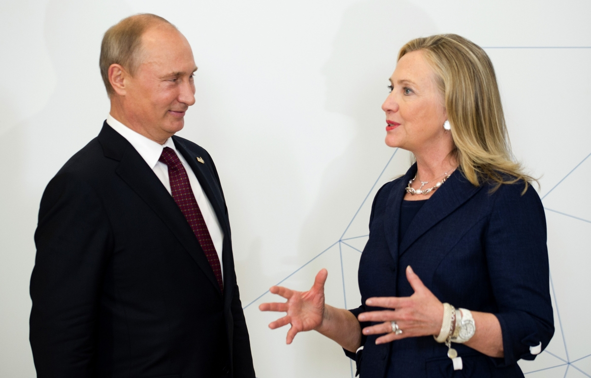 Clinton Putin Weak